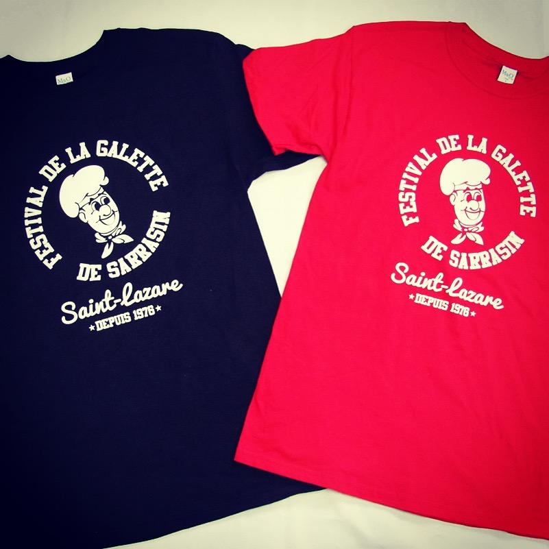 t-shirt design Festival de la galette | Design by Kaylynne Johnson - web & design | www.kaylynnejohnson.com