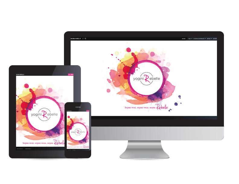 Yogini Rebelle - web | Design by Kaylynne Johnson - web & design | www.kaylynnejohnson.com